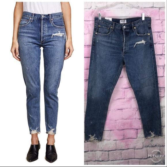 Agolde Denim - Agolde Jamie Hi Rise Classic Jeans color Grade 30